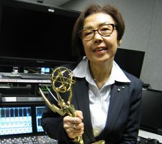 Alumna Junko Tsunashima '74 won an Emmy award for her work as supervising producer on the PBS series, American Masters! Congratulations Junko!