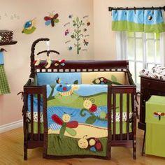 Cute nurseries on pinterest 168 pins for Bug themed bedroom ideas