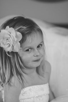 My Little Girl in my wedding dress @ daisybabyphoto.com