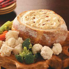 Hot Bacon Cheese Spread