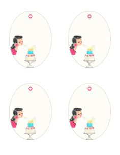 FREE printable birthday gift tags ♥Happy Birthday to ….♥ | *Free ♥ Pretty ♥ Things ♥ For ♥ You*