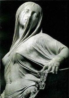 La Pudeur, Antonio Corradini, Chapelle Sansevero, Naples