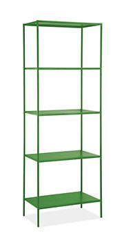 Slim Shelves in Colors - Bookcases & Shelves - Office - Room & Board