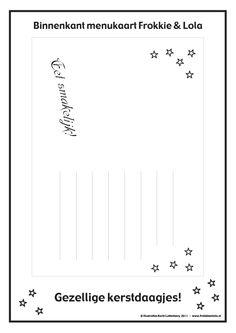 Maak je eigen kerst menukaart (deel 2)