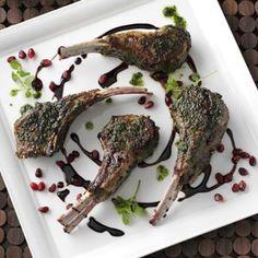 Mint-Pesto Lamb Chops