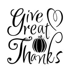 Give Great Thanks Vinyl Decal Thanksgiving. $5.50, via Etsy.