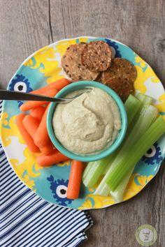 Hummus with dry chickpeas.  {vegan} {gluten free}