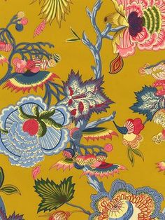Pierre Deux - love this wallpaper for a home office!!!