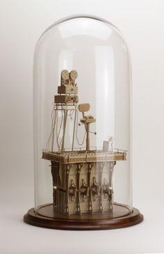 daniel agdag's masterful manipulation of common cardboard miniatur, daniel agdag, paper art, intric cardboard, papers, cardboard sculptur, films, paper sculptures, bell jar
