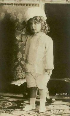 Tsarevich Alexei Nikolaevich Romanov of Russia.A♥W