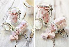 Raspberry Vanilla Bean Marshmallows