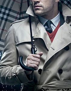 Classic Burberry Trench Coat