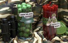 R's army birthday ideas
