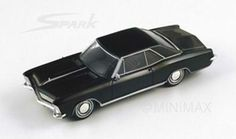 1/43 Spark scale model 1965 Buick Riviera in black £49.99