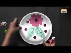 How to make a flower basket  #preschool #ESL #Arts #education #kids   #Craft #DIY