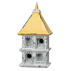 Cumberland Birdhouse birdhouses, green thumb, garden care, birdhous bungalow, white cumberland, garden idea, cumberland birdhous, bird hous, kid
