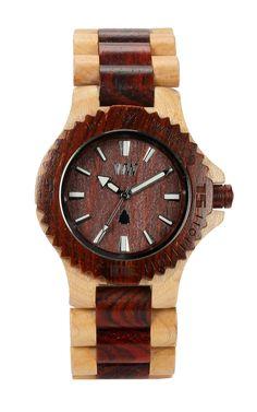 Date Beige Brown Watch