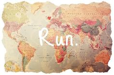 On the run!! Not really just about to embrace another travelling episode - love life happy Awesome boho indie run dream Grunge travel world bohemian africa europe away romania jamaica