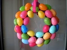 easy easter wreath- easy and cute