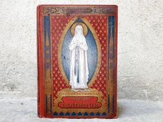 Antique French Book Notre Dame de Lourdes Rare by CoupsDeCoeur, $69.00