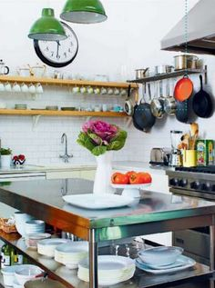 Love this quirky kitchen!