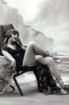 bath beauti, beaches, vintage, beach fashion, beauty, bathing beauties, 1920s, flappers, flapper girls