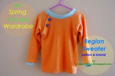 reglan sweater free pattern and tutorial