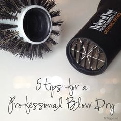 5 tips for a professional blow dry at home | #BabyCenterBlog