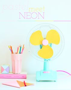Pastel meets neon! (Styling by Charlotte Love | Photography by Jonathan Gooch)