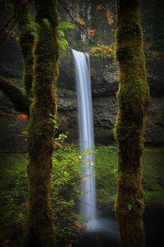 South Falls, Lower Silver Creek, Silver Creek State Park, Silverton, Oregon