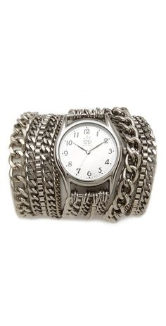 chain wrap watch