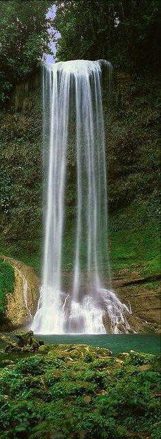 Tenaru Waterfall, Solomon Islands- #amazing #awesome
