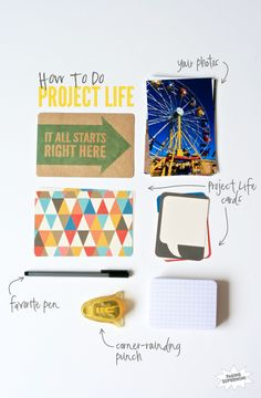 How to Do #ProjectLife for your Family Album at PagingSupermom.com