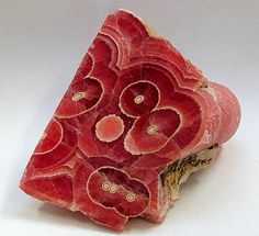 Rhodochrosite #minerals....an easier name might be watermelon.....