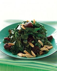 Sauteed Collard Greens with Raisins via Martha Stewart