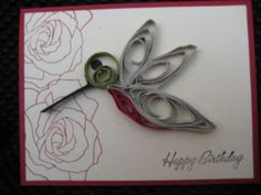 Quilled Hummingbird by Evalou - Cards and Paper Crafts at Splitcoaststampers