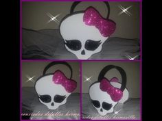 DIY como hacer Dulcero monster high de fomy