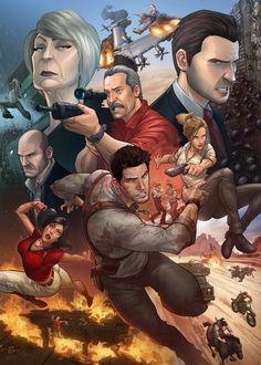 Uncharted 3 by PatrickBrown.deviantart.com on @deviantART