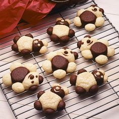 How cute are these Teddy Bear Cookies?