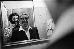 El escritor colombiano Gabriel García Márquez.  VASCO SZINETAR