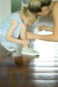 How to Teach Your Child to Tie His/Her Shoes