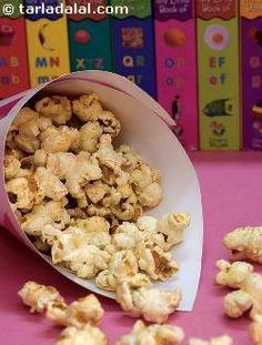 Cheese Popcorn ( Finger Foods for Kids ) recipe | by Tarla Dalal | Tarladalal.com | #33616