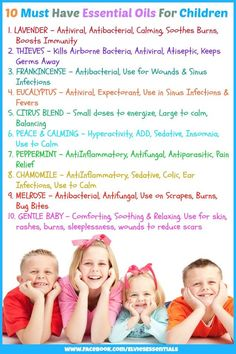 Young Living Essential Oils: Children