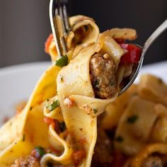 Italian Drunken Noodles - A+