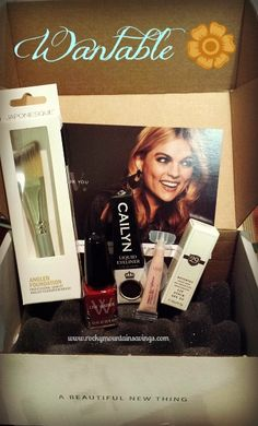 Wantable Jewelry or Beauty Monthly Subscription Box