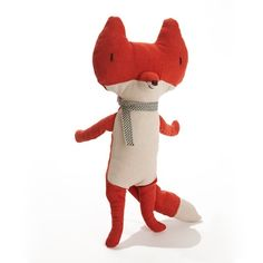 maileg fox, foxi ladi, woodland nurseri, anim, toy