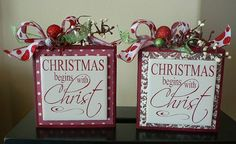 Christmas Sign  Christmas Begins with Christ  by huckleberrylady, $11.99