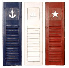 nautical shutters
