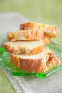 This pound cake is simple & quick.. A new family favorite! I sub lemon extract for the vanilla.. and it makes it even better! Cassi Sour Cream Pound Cake