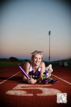 BHS Track Senior Picture